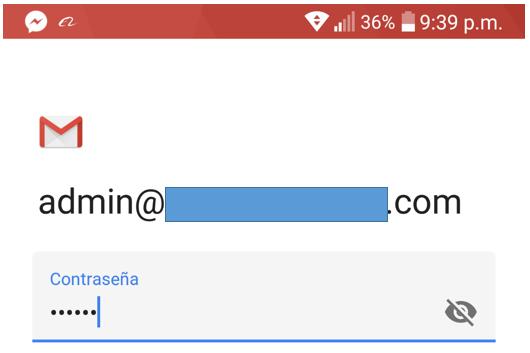 Paso 5 para añadir tu correo de Migadu en la aplicación de Gmail