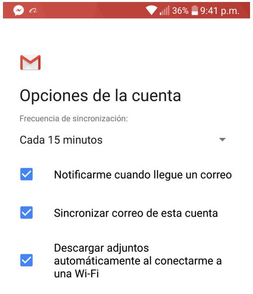 Paso 8 para añadir tu correo de Migadu en la aplicación de Gmail